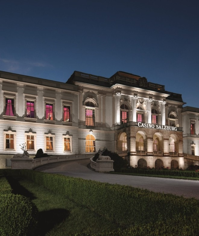 Casino Salzburg in Schloss Klessheim © Casinos Austria