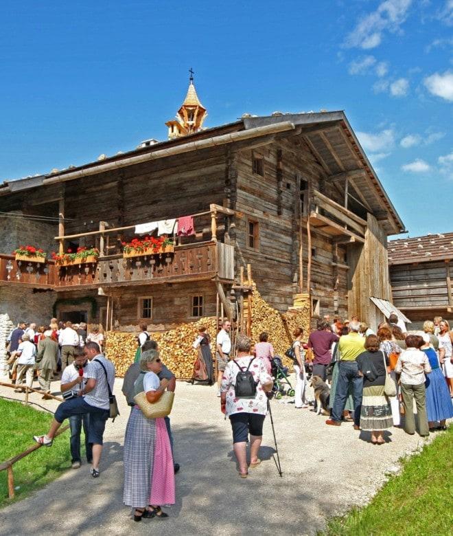 Salzburger Freilichtmuseum in Großgmain © Salzburger Freilichtmuseum / Franz Neumayr