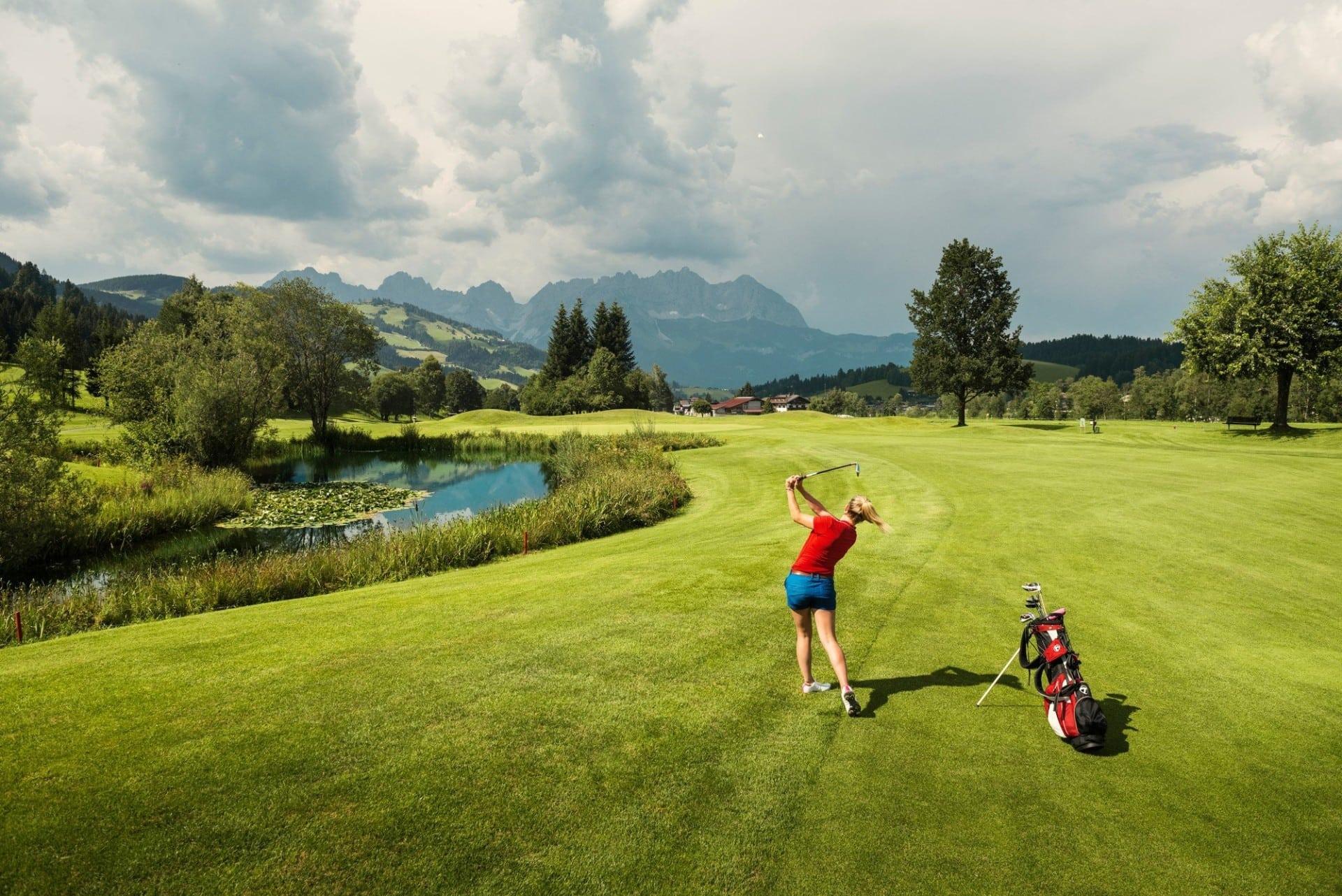 Golf © SalzburgerLand Tourismus
