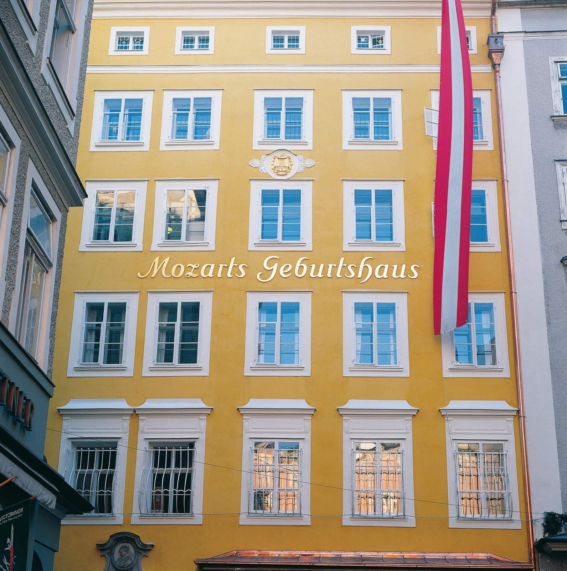 Mozarts Geburtshaus © Tourismus Salzburg