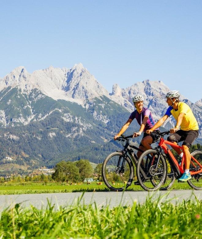 Tauernradweg © SalzburgerLand Tourismus