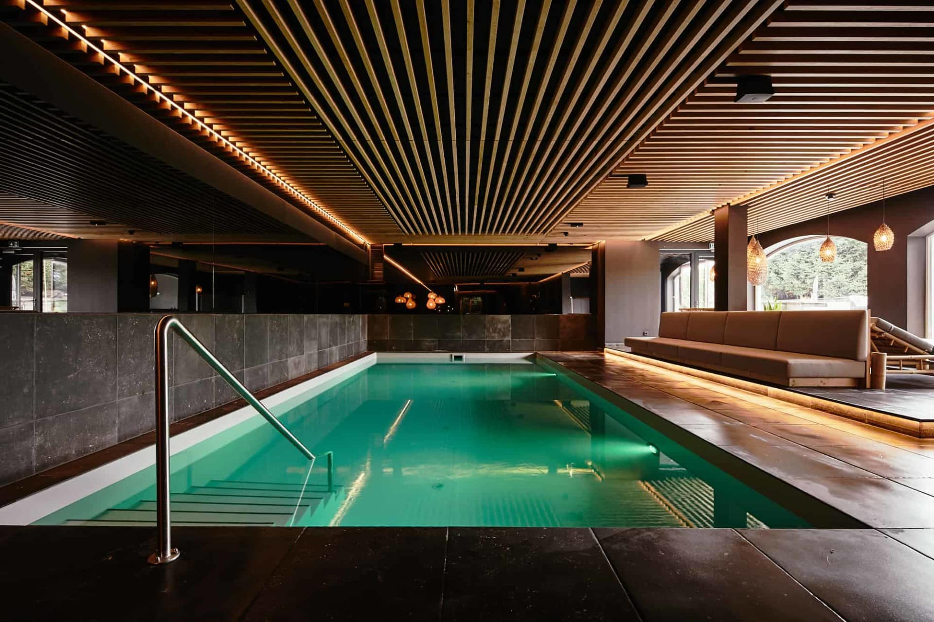 Family indoor pool